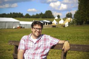 Hans Werthén har lyckats bygga upp Fäviken Game Fair till ett av länets absolut största årliga arrangemang. Bra team och återkommande utställare är framgångsreceptet, menar han.
