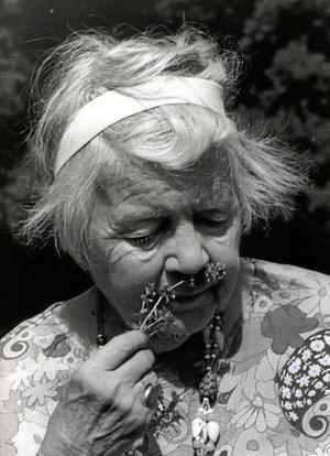 Örebroprofil. Margit Palmaer-Waldén.