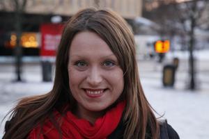 Monica Lande, Järvsö:– Till flickan från pakistan, Malala Yousafzai, för att hon är en helt fantastik och modig liten tjej.