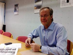 Bengt Eric Lundborg, näringslivschef för Härjedalens kommun och informationschef för NBE Sweden. Foto: Carin Selldén