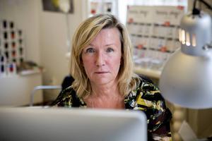 Kikki Högberg riskerar konkurs.