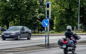 Motorcyklister behöver inte oroa sig för fartkamerorna.
