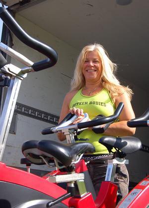 Träning och hälsa har alltid varit en naturlig del i Susanne Syréns liv. Foto: Hanna Embretsén/Arkiv