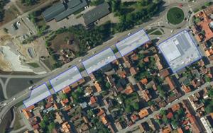 Foto: Naturskyddsföreningen.Naturskyddsföreningen i Falun vill se en avsmalning av Gruvgatan till förmån för bostäder.