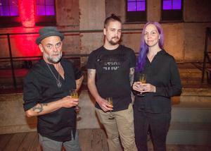 Jonas Pehrson, Svenska kockars förening, tillsammans med Oscar Grönfors och Charlotte Lindfors som driver restaurangen Bro Burger.