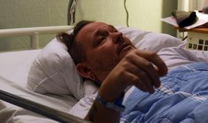 Patrik har legat inne på sjukhus sedan olyckan ägde rum. Det blir en lång och mödosam väg för att bli helt återställd men han är fast beslutad om att ta kampen.
