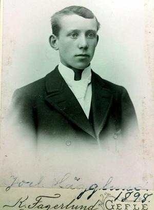Joel Hägglund, 19 år.
