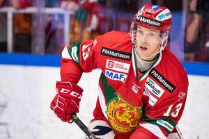 Emil Bejmo är tillbaka i Mora IK efter en kort sväng till Södertälje. Foto: Daniel Eriksson/BILDBYRÅN