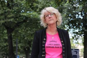 I två år har Gerda Bylund hållit sig borta från rampljuset – men nu är hon tillbaka på scenen igen –