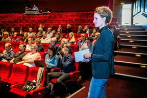 Sofia Pettersson, kommundirektör i Härnösand, en av flera höga kommunala chefer från hela Sverige som har sökt jobbet som stadsdirektör i Västerås. Foto: Gunnar Stattin