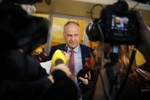 Vänsterpartiet och Jonas Sjöstedt har stått i händelsernas centrum den senaste veckan efter att ha hotat om misstroendeförklaring. Foto: Christine Olsson / TT