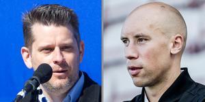 Marcus Birro och Simon Åström blir arbetskamrater i ÖSK från och med nästa vecka. Birro på frilansbasis, för att producera mediainnehåll, Åström är vd i klubben.  Arkivfoto: TT/NA