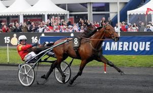 Björn Goop styrde Readly Express till förstaplatsen i Prix d'Amerique.