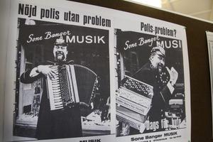 Sone Banger hade sin egen musikaffär i Stockholm.