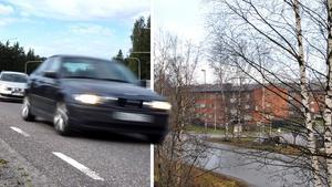 Signaturen BP påpekar att det är stora problem med fordon som inte håller hastigheten på Appelbergsvägen i Bredsand. Bilder: Peter Forssell / Helen Gerlin