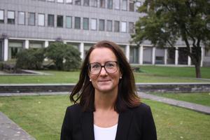 Sanna Edling, projektledare på Västerås stad, som leder arbetet med Mälarporten och det nya resecentrumet.