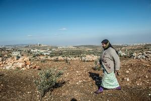 2,7 miljoner palestinier bor på Västbanken. De styrs i varierande grad av Israel, men  har inte rösträtt i israeliska val.