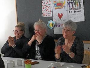 VIP: Lina Pålsson, skolsköterska, Ylva Hammarström, kurator och Maria Carlsson, specialpedagog.