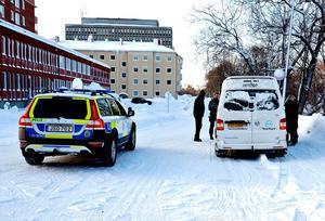 En smitningsolycka utan personskador inträffade i centrala Sundsvall kring 13-tiden på lördagen.