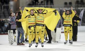 Vetlanda fick kvala säsongen 2012/13 och vann sin grupp. Det gjorde även Sirius.