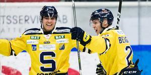 Christopher Bengtsson hittar rätt i powerplay just nu. Stjärnan har fem mål på tre matcher i spelformen. Foto: Bildbyrån.