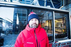 Niclas Sjögren Berg är destinationschef på Skistar i Åre.