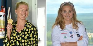 Maja Dahlqvist och Stina Nilsson skidade tillsammans hem guldet i sprintstafett på VM.