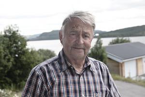 Sune Halvarsson från Hedeviken larmade tidigt om branden på Sonfjället.