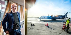 Under onsdagen meddelade SAS att man slutar flyga mellan Örnsköldsvik och Stockholm i februari. Trots det ser Rodrets vd Pär Lindberg ljust på framtiden.