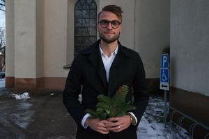 Före detta GIF-forwarden Erik Törnros.