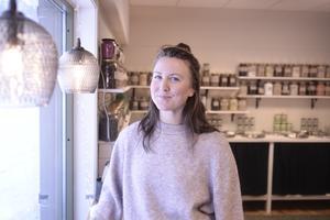 Joanna Mörtberg har startat butiken Hink.