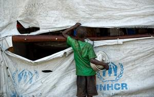 Sudanesisk flyktingpojke i norra Uganda. Foto: Ben Curtis/AP/TT