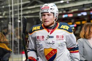 Alexander Falk är klar för spel i Timrå. Bild: Ola Westerberg/Bildbyrån