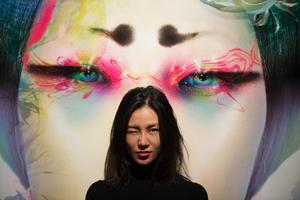 I början av sin karriär färglade och manipulerade Chen Man sina bilder så mycket att kollegorna tyckte att hon sysslade med måleri. Foto: Hossein Salmanzadeh / TT
