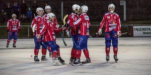 På lördag väntar seriefinal då serieettan Västanfors IF möter Nitro/Nora BS.