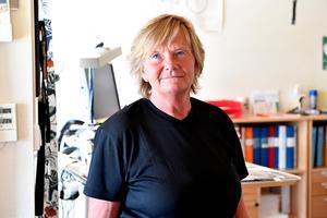 Lena Nilsson, som tillsammans med Anders Nilsson  ser att det nu snabbt måste till en lösning med nya poliser till Idre.