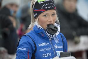 Frida Karlssons träning är begränsad till omkring en timme om dagen.