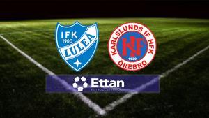 LIVE-TV lördag 13.55: Luleå tar emot Karlslund i Ettan – se matchen här