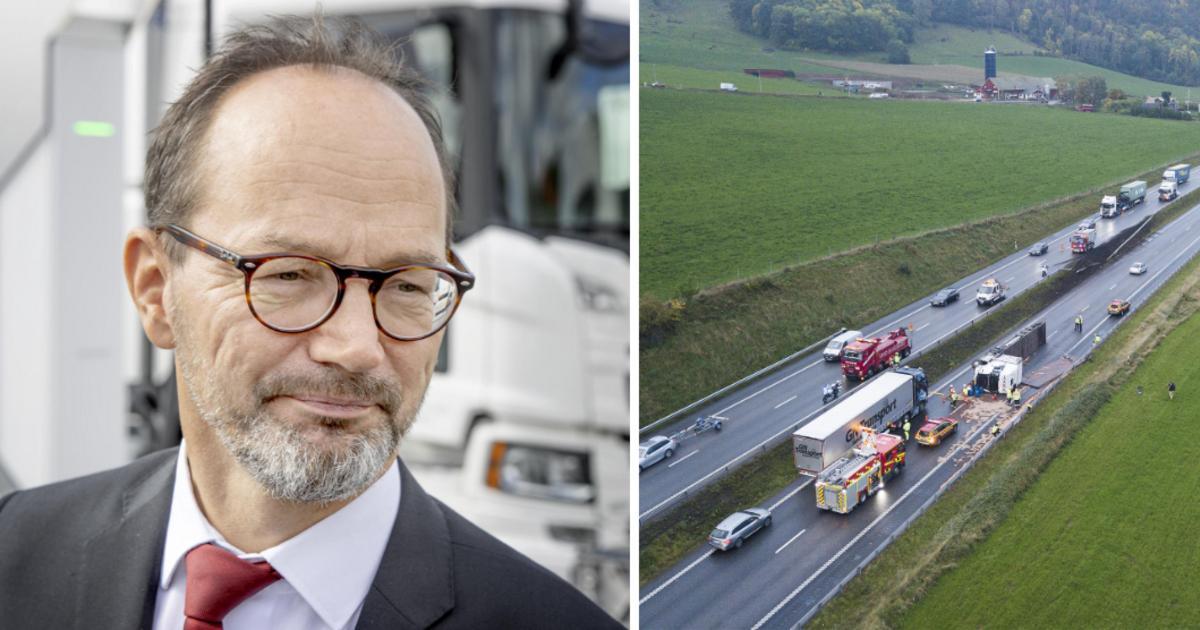 """Infrastrukturministern: Hårdare regler kan stoppa fusket inom åkeribranschen • """"Behöver tätare trafikkontroller"""""""
