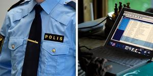 Polisen varnar för utpressningsmejl. Arkivbild.