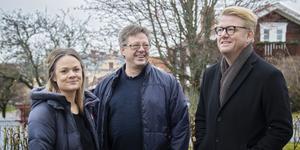 Christer Johansson, i möte med Marlene Ljung och Thomas Mogren, pratar om årets insatser.