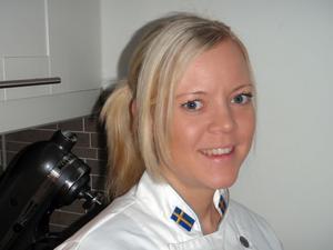 Konditorn Jennie Elmerfors. FOTO: PRIVAT