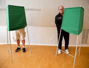 54 procent av kommuninvånarna i Leksand röstade i EU-valet 2014.