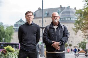Markus Allard och Peter Springare, Örebropartiet.