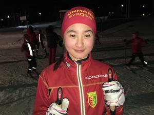 Ellen Rydhult från Svegs IK tävlar i Damer 12-13.