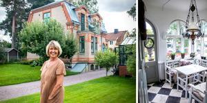 Ugnsmurarens Viktor Perssons vackra tegelhus blev till slut Ann-Katrins.