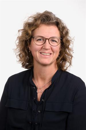 Ingrid Engström, fabrikschef på BillerudKorsnäs Frövi och Rockhammar. Pressbild: BillerudKorsnäs