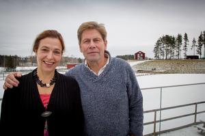 Anna och Eskil Hammarström äger och driver HVB-anläggningen Mitt Hjärta Bo & Lära i Delsbo.
