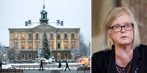 Nämnden var enig om att återkalla tillståndet för den fristående förskolan, berättar Evelyn Klöverstedt, L. Mötet hölls i Rådhuset.