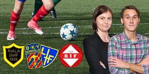Helgens matcher kommer filmas och kommenteras av NT-sportens reportrar Jessica Eriksson och Christopher Grönlund.